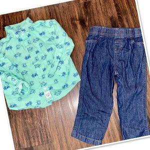 Baby B.U.M. 2PC Boy's Outfit